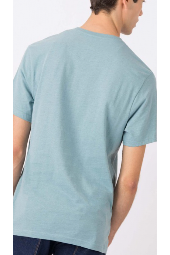 Camiseta Man verde agua
