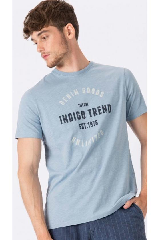 Camiseta Min azul