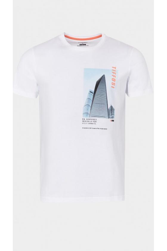 Camiseta Lenox blanca